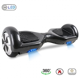 BE3K Hoverboard 6.5″ Patinete Eléctrico Scooter Auto Electrico Patinetes, Monopatín Eléctrico con 2*350W Motor, Hoverboard Eléctrico para Niños y Adultos
