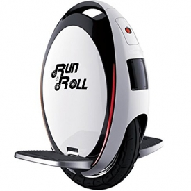 Run & Roll Turbo Spin Advanced – Monociclo, color blanco, 12″